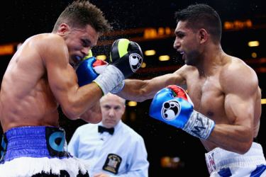 Amir Khan has defended his decision to fight in Saudi Arabia. - AFP