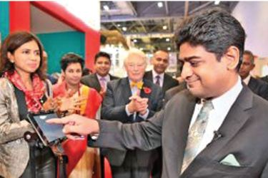 Minister Senanayake at the WTM in London