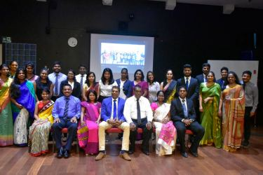 CIPM Speechcraft participants with CIPM officials and CIPM Toastmaster members