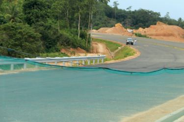 The Southern Expressway is to be extended to Hambanthota