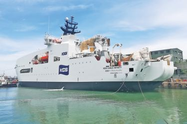 Cable Laying Vessel launched by CDL to Japanese owners