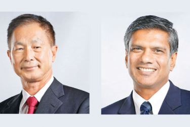 Teejay Chairman Bill Lam and CEO Shrihan Perera