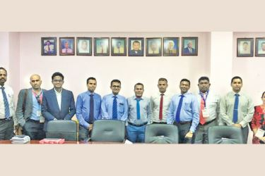 The Sri Lanka – Maldives Business Council team in Male