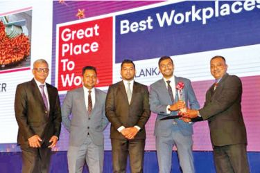 M.C.A. Anver  Area General Manager, Riyas Shabdeen Area Sales Manager , Shabier Subian Director, Aqueil Subian Director and Brian Emanuel Marketing Director, LMD.