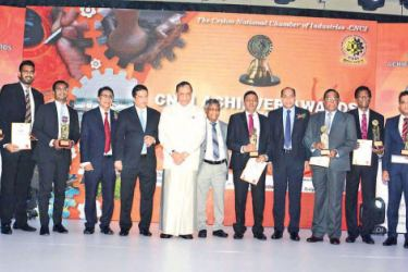 The top 10 CNCI award winners. Picture by Saliya Rupasinghe