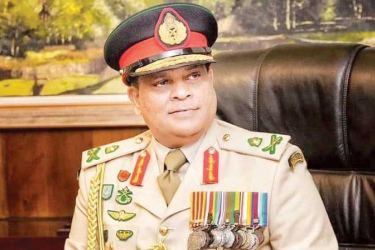 Army Commander Lt. General  Shavendra  Silva