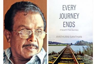 Murukan is the protagonist of Ayathurai Santhan's third novel, Every Journey Ends, which is Godage's Best English Novel of 2018.