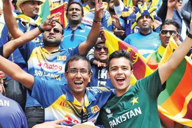 Sri Lanka and Pakistan fans enjoyed the cricket played at Karachi and Lahore.
