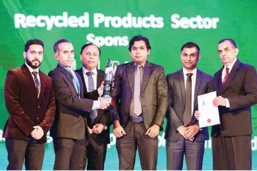 Aadhil Azeez, Manager Industries - Neptune Papers (Pvt) Ltd, Fazleen Majeed, General Manager – Neptune Papers (Pvt) Ltd, Waruna Mallawarahchi, Deputy General Manager - Advertising, Associated Newspapers of Ceylon Ltd (ANCL) - Print Media Partner, Anura Amaradasa, Certification Manager - Indexpo Certification Ltd., Representing Technical Committee of the Panel of Judges, Dilshan Rajapaksa representative from the Council to the Management Committee and Mohamed Sakkhaf, Manager Recycling Solutions Corporate –