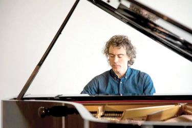 Paul Lewis at the Piano