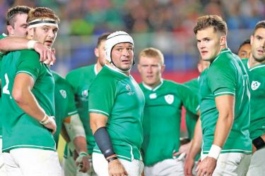 Ireland has beaten the All Blacks twice in their past three duels.