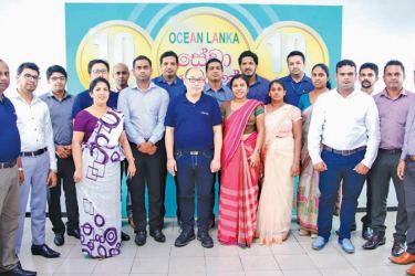 Ocean Lanka Management with a group of Loyalty Award recipients