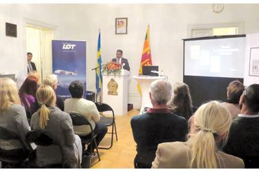 The Embassy of Sri Lanka in Stockholm in partnership with LOT Polish Airlines organized a tourism promotional event on October 22 at the Embassy.