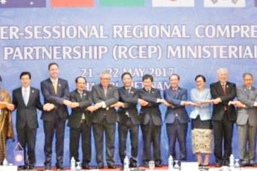 The proposed free-trade agreement includes 10 member countries of the Association of Southeast Asian Nations (Asean) and six of the bloc's dialogue partners.