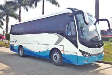 Comfortable, luxury coach services organised by Browns Tours