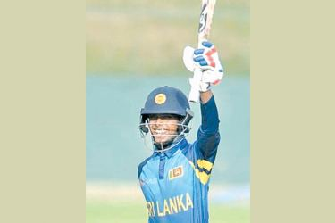 Sri Lanka under 19 skipper Nipun Dananjaya played a marathon knock of 81 to force a draw in the second under 19 youth test against Bangladesh.