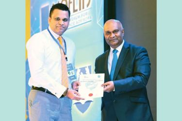 M. P. C. Fernando of HNBA Colombo North Branch, Best Branch Manager, Medium Company Category, Gold Award.