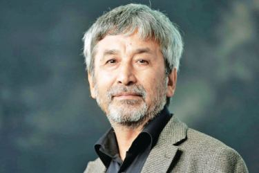 Hamid Ismailov: funny, fantastical, hard to classify. Picture by Murdo Macleod.