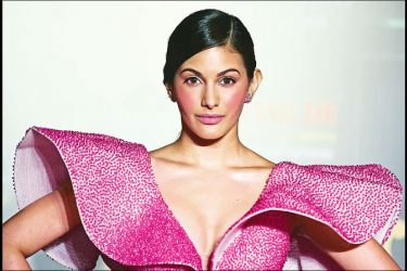 Bollywood actress Amyra Dastur arrives at the Filmfare  Glamour and Style