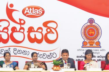 The official MoU signing of the partnership between Atlas Axillia and the Department of Probation and Child Care Services with the presence of Ms. Chandima Sigera, Commissioner, Department of Probation and Child Care Services and  Nilmini Herath, Additional Secretary, Ministry of Women & Child Affairs and Social Security, and Asitha Samaraweera, Managing Director, Atlas Axillia, Shaan Wickremesinghe, Marketing Director, Atlas Axillia and  Shiromi Masakorala, General Manager Group Sustainability and Corporat