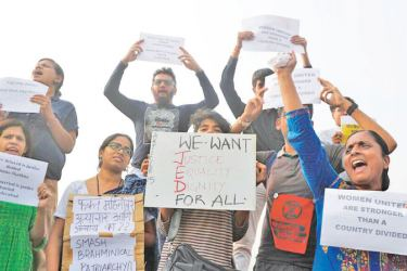 Activists in Mumbai protest against rising cases of sexual violence, demand justice for victims and survivors of rape.