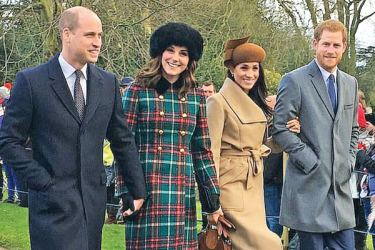 Two years ago, Meghan joined the Royal Family for her first Christmas at Sandringham
