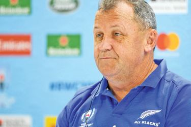Newly named All Blacks coach Ian Foster was the long-time assistant to his predecessor, Steve Hansen for eight years.