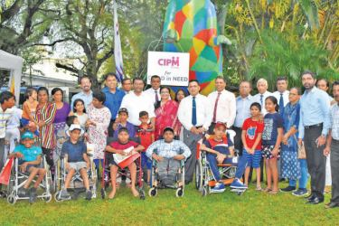 The CIPM team at the Park for Children with Special Needs