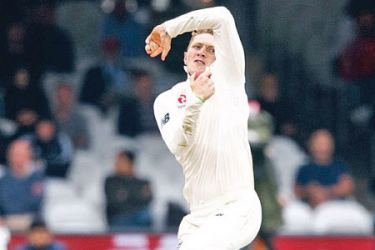 England's  spinner Dom Bess was recently at a spin bowling camp in Sri Lanka held by Rangana  Herath.