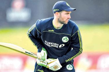 Balbirnie was named Ireland captain of all formats in November 2019