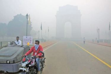 Rising air pollution