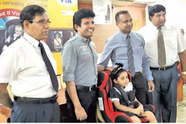 Automobile Association of Sri Lanka officials (AA)at the launch