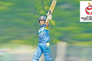 Sri Lanka U19 opener Navod Paranavithana smashed an impressive 12 fours and a six during his 64-ball 68 against South Africa U19.