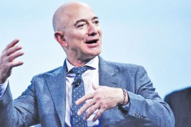 Amazon boss Jeff Bezos has announced a major investment in India, saying the country is a key growth market