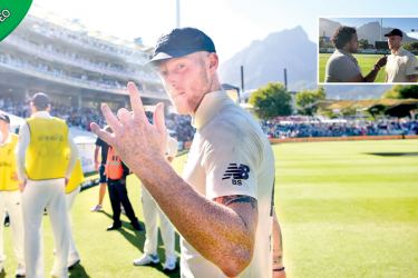 Ben Stokes hit 47 and 72 at Newlands before taking 3-35 in the final innings
