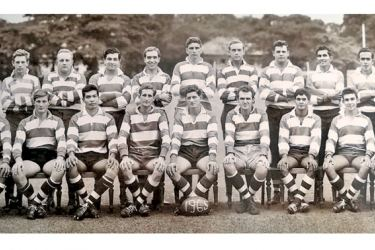 The CH and FC Rugby team of 1965