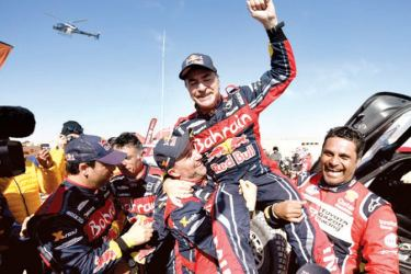 The veteran Spanish driver led this year's Dakar Rally from the third stage. - AFP