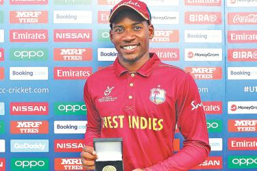 Nyeem Young scored a fifty and bagged five wickets for West Indies in their U19 World Cup match against England at Kimberley.