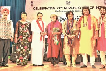 Prime Minister Mahinda Rajapaksa graced the occasion as the chief guest.