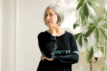 """""""I envisage myself in public as an author and I cringe…"""" Susan Choi."""