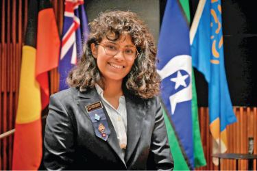 Assistant State Commissioner of Victorian Girl Guides Mandhree Ekanayake