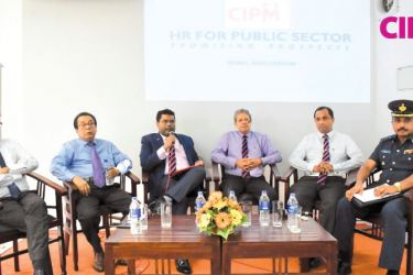 Panelists at the discussion