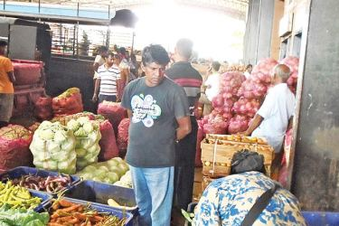 The DDEC now receives large stock of vegetables daily.