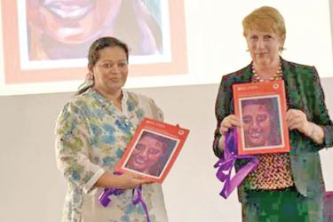 Gill Caldicott, Country Director British Council  Sri Lanka at the event