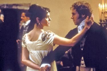Frances O'Connor as Fanny Price and Alessandro Nivola as Henry Crawford in Mansfield Park,