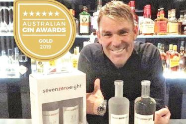 Shane Warne's gin company  to produce hand sanitizers.