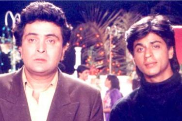 "Superstar Shah Rukh Khan has shared fond memories of working with Rishi Kapoor in his debut film, the 1992 romantic thriller ""Deewana""."