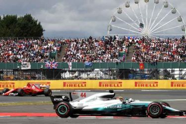 Formula One British Grand Prix at Silverstone.