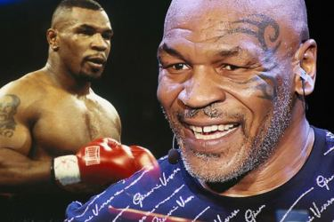Mike Tyson in training for sensational return to the ring.
