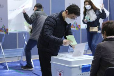 The elections in South Korea